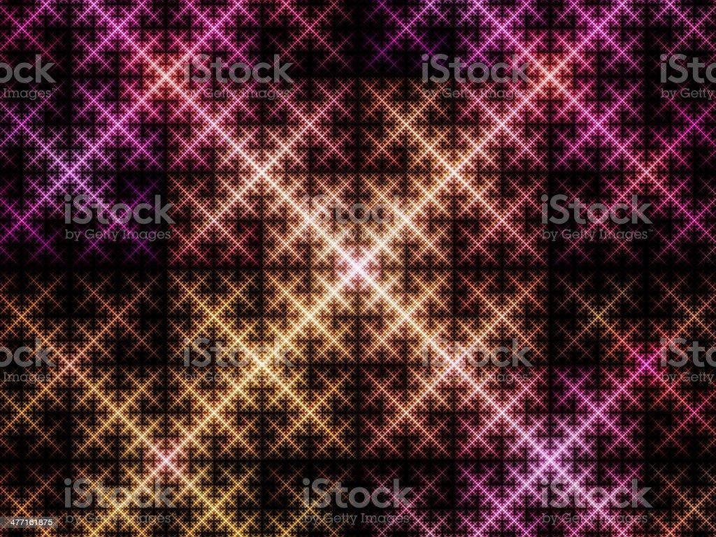 Sierpinski triangle system royalty-free stock photo
