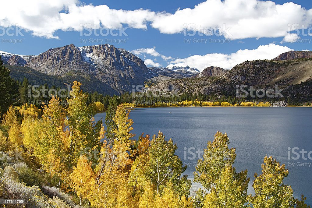 Sierra Autumn stock photo
