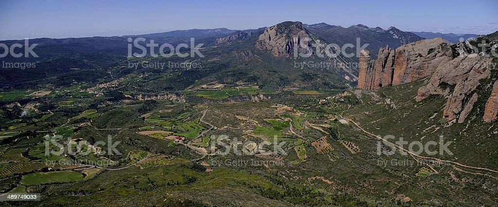 Sierra de Loarre stock photo