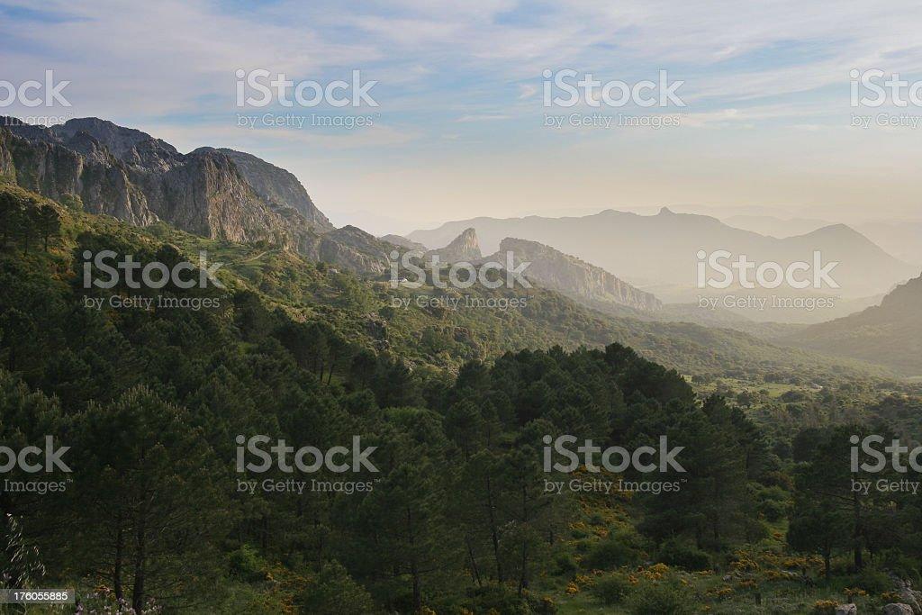 'Sierra di Grazalema, Andalusia, Spain' stock photo