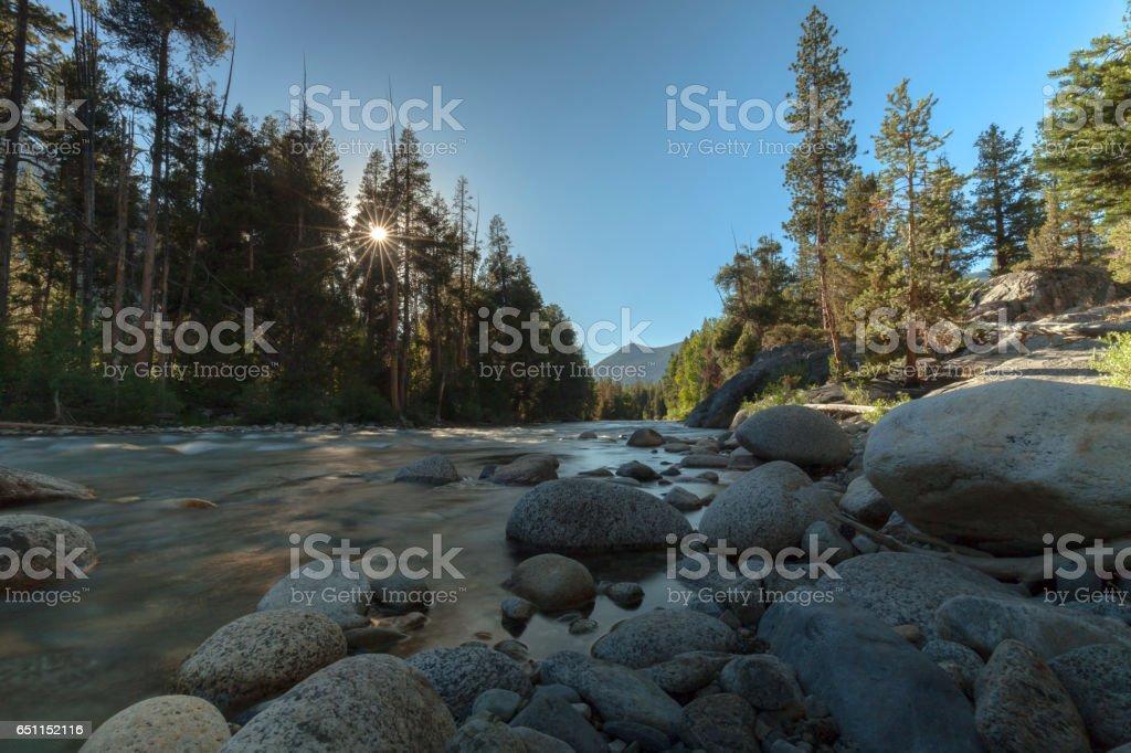 Sierra Evening Light stock photo