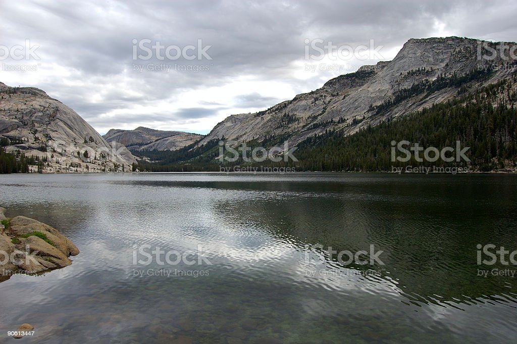 Sierra Lake 2 stock photo