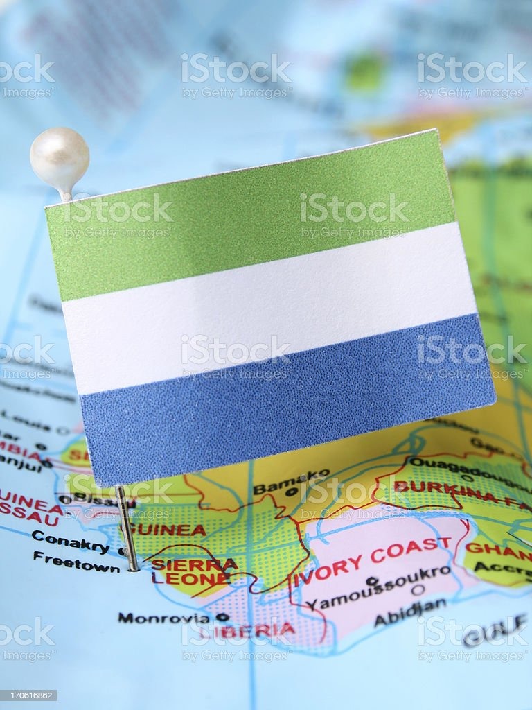 Sierra Leone stock photo