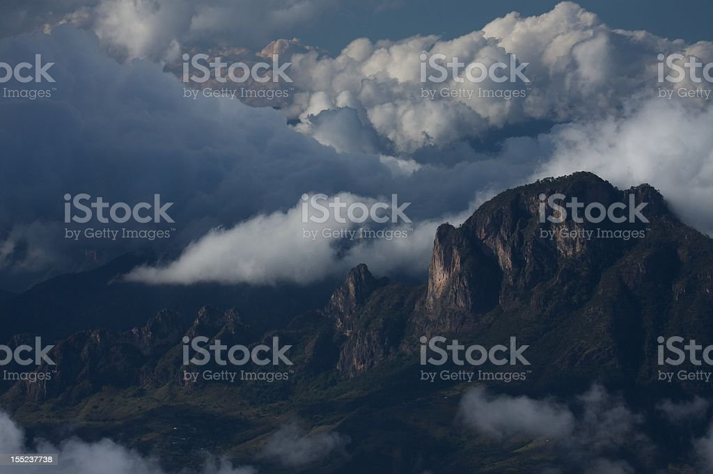 Sierra Madre Occidental stock photo