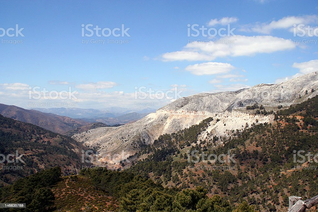 Sierra Nevada Andalusia royalty-free stock photo