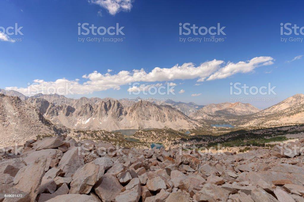 Sierra Nevada Canyon stock photo