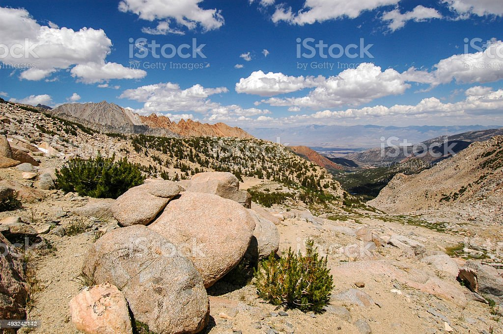 Sierra Nevada high country stock photo