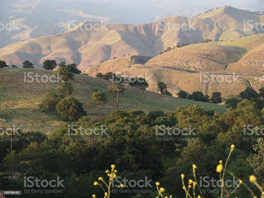 Sierra Nevada landscape stock photo