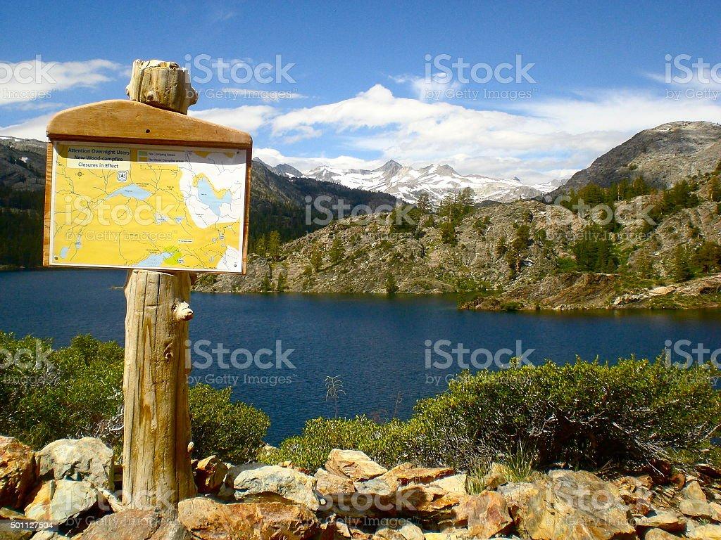 Sierra Nevada Landscape royalty-free stock photo