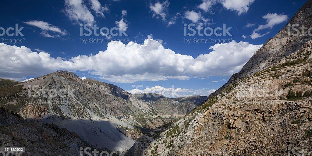 Sierra Nevada mountain range royalty-free stock photo