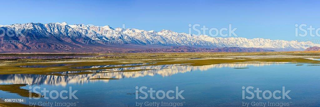 Sierra Nevada Panorama stock photo