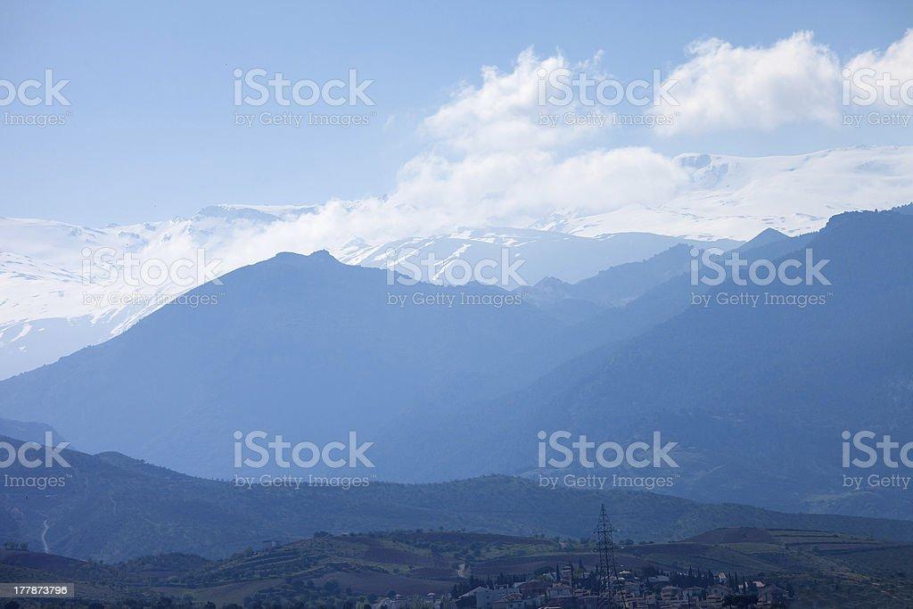 Sierra Nevada royalty-free stock photo