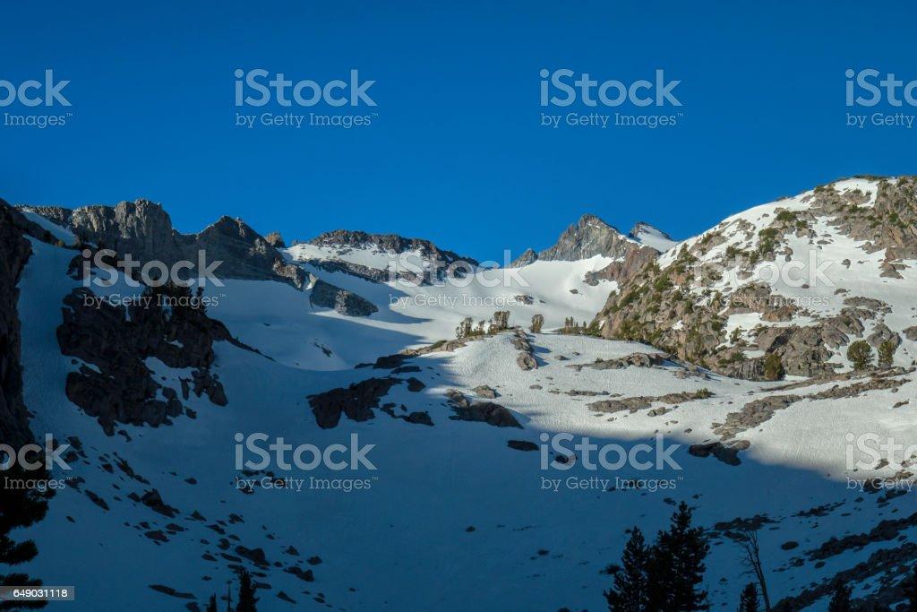 Sierra Sunlight stock photo