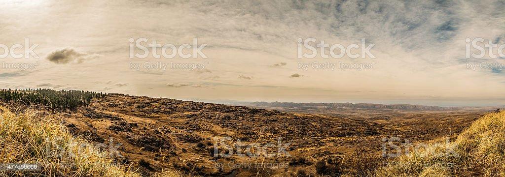 Sierre de Cordoba, Gebirgkette in Cordoba Argentinien stock photo