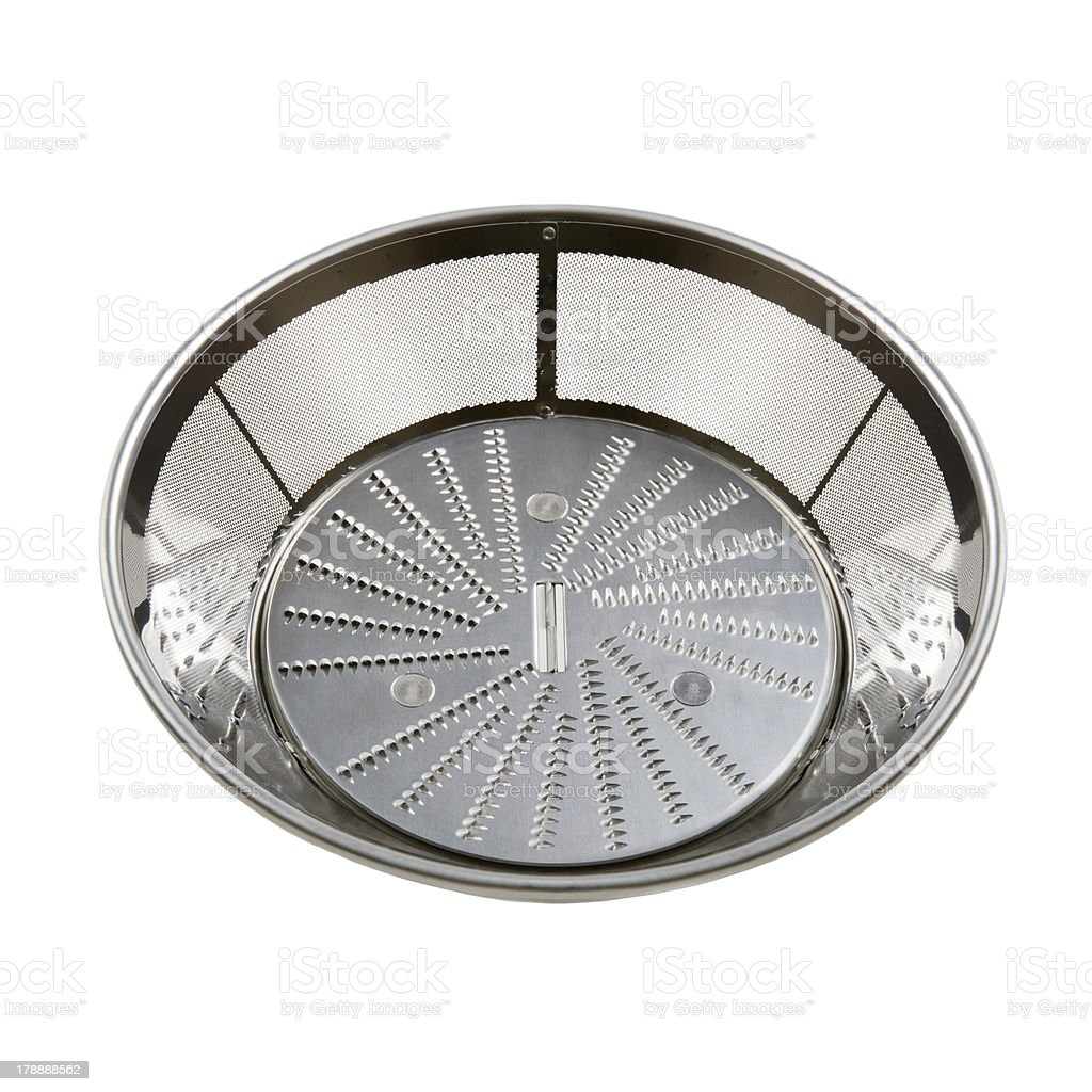 sieve for juicer royalty-free stock photo
