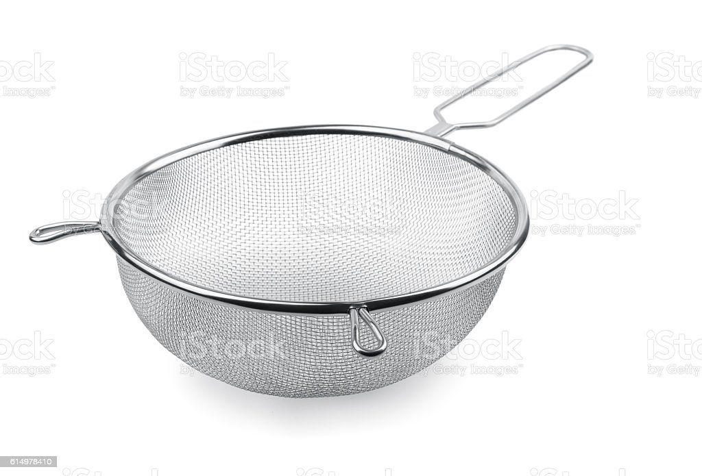 Sieve stock photo