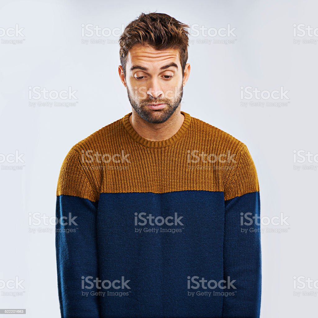 Sigh, I wish it was different... stock photo