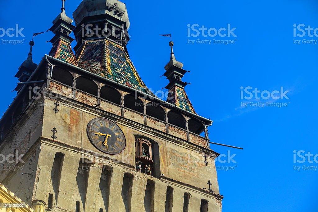 Sighisoara Clock Tower stock photo