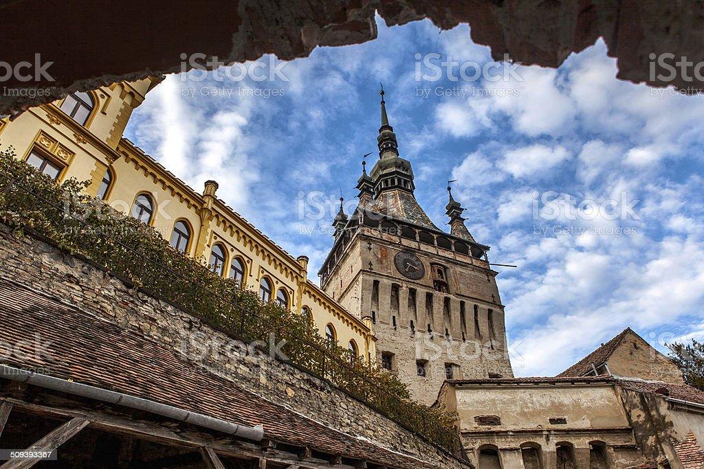 Sighisoara Medieval City, Romania stock photo