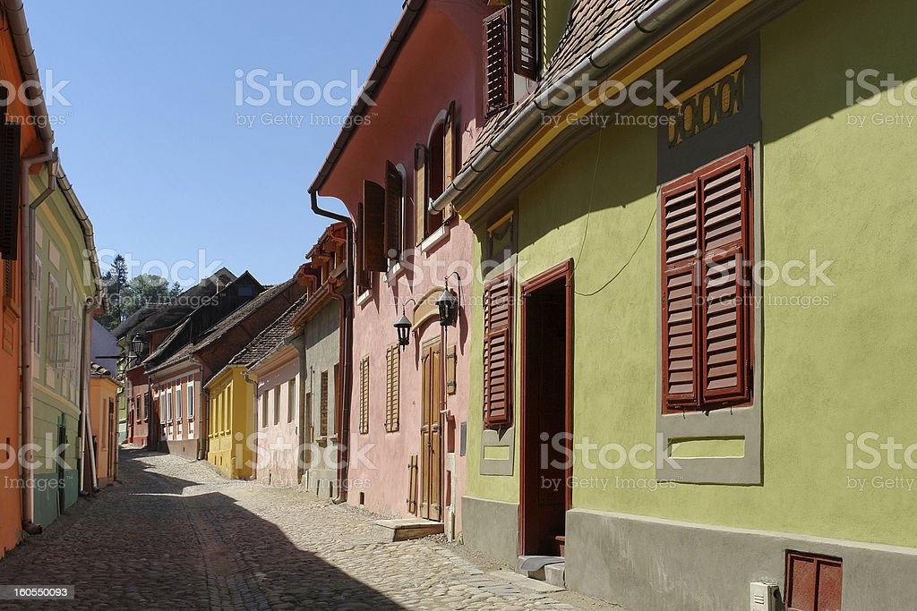 Sighisoara royalty-free stock photo