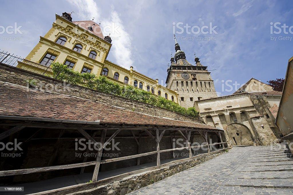 Sighisoara, Romania stock photo