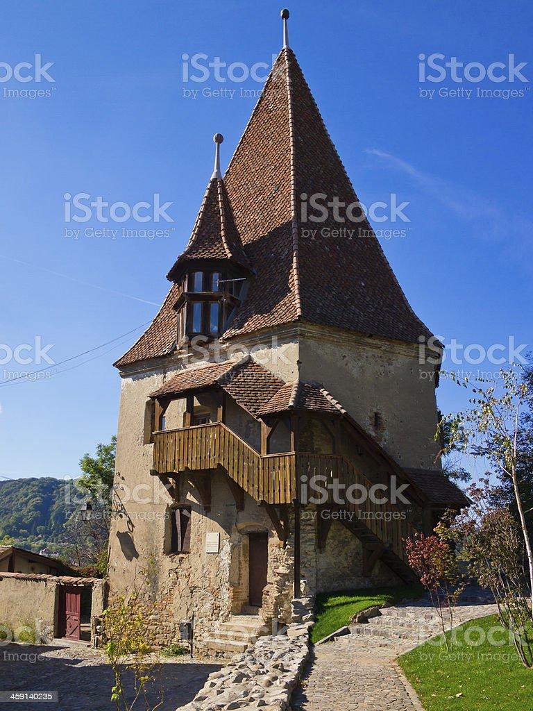 Sighisoara, Transylvania stock photo