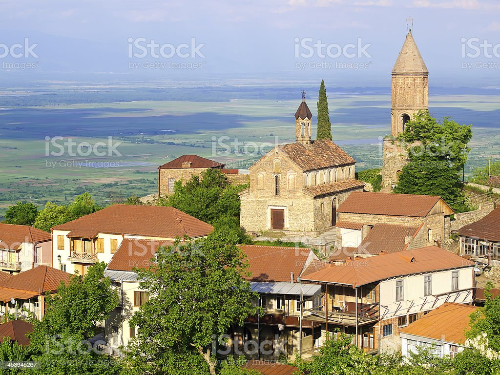 Sighnaghi royalty-free stock photo