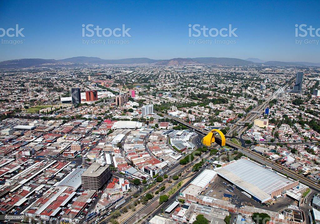 Sight airs of guadalajara stock photo