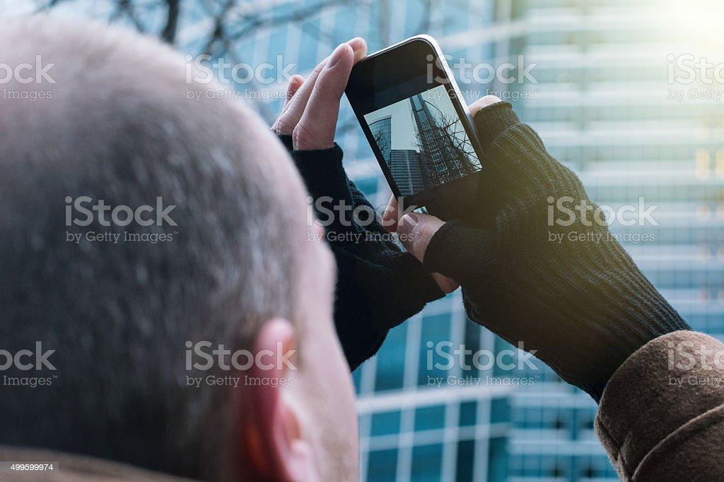 Sight of Moscow stock photo