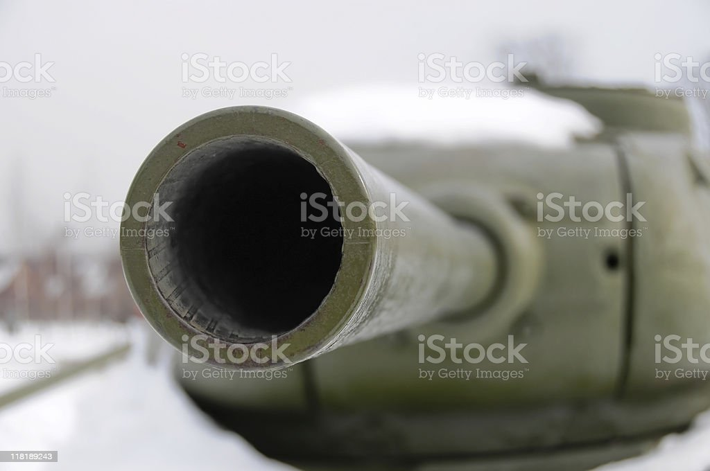 Sight of war royalty-free stock photo