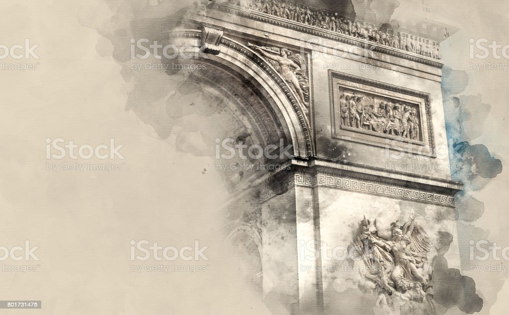 sights France stock photo