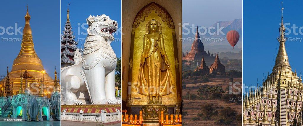 Sights of Myanmar - Burma stock photo