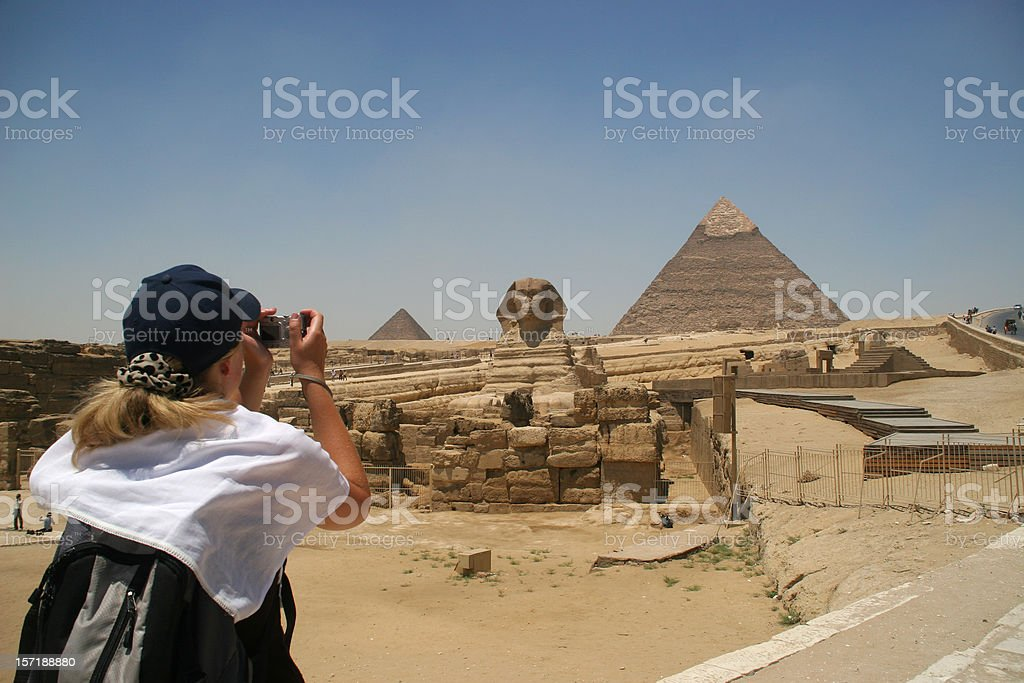 Sightseeing in Giza royalty-free stock photo