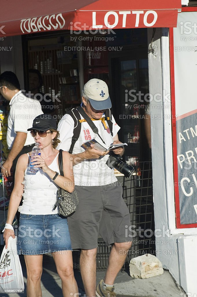 sightseeing in hollywood royalty-free stock photo