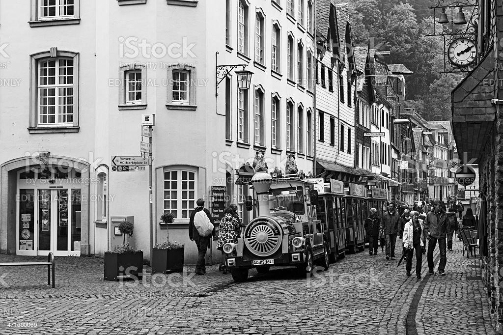 Sightseeing of Monschau royalty-free stock photo