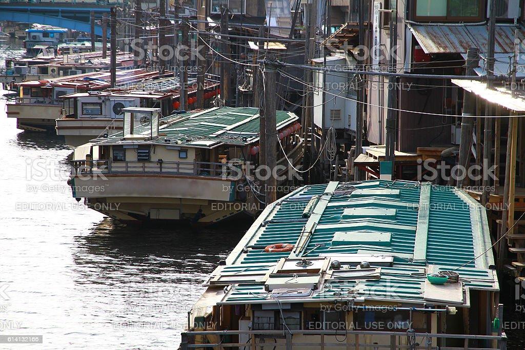 Sightseeing ship of Japan foto de stock libre de derechos