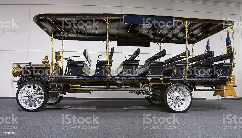 Sightseeing Tour Bus royalty-free stock photo