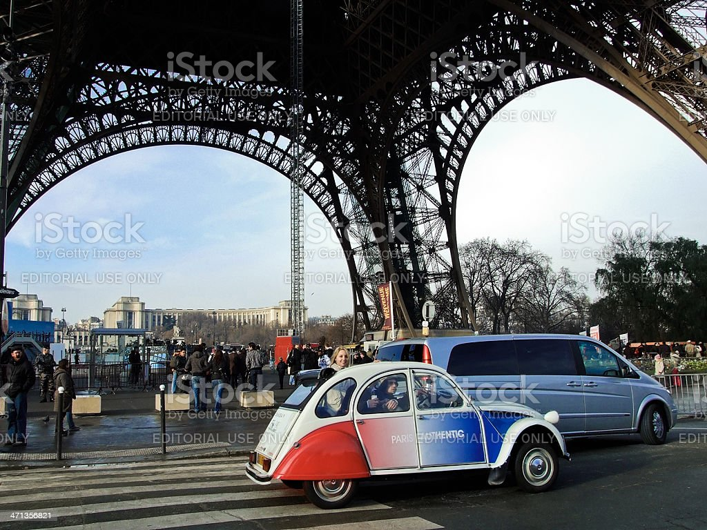 Sightseeing Tour in Paris royalty-free stock photo