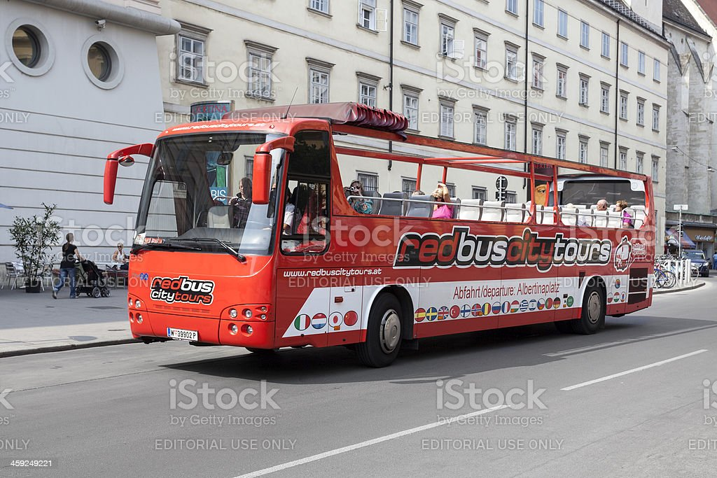 Sightseeing tour in Vienna, Austria royalty-free stock photo