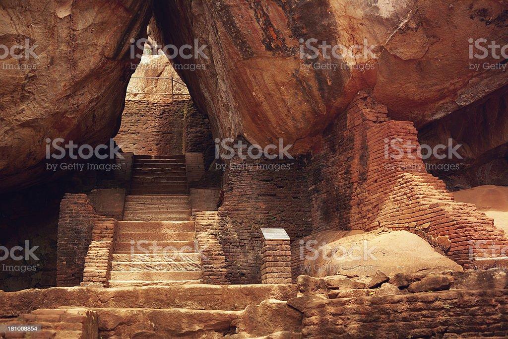 Sigiriya entrance royalty-free stock photo