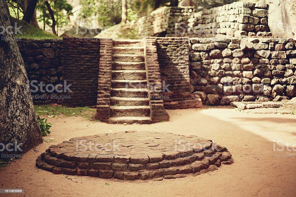 Sigiriya (park) royalty-free stock photo