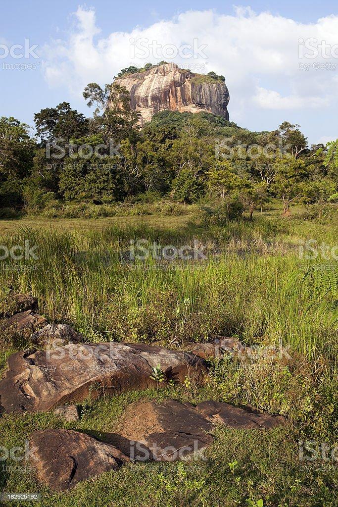 sigiriya royalty-free stock photo