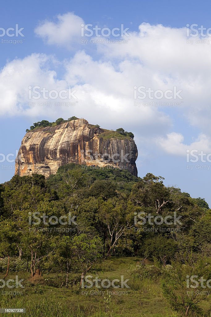 sigiriya royalty-free stock photo