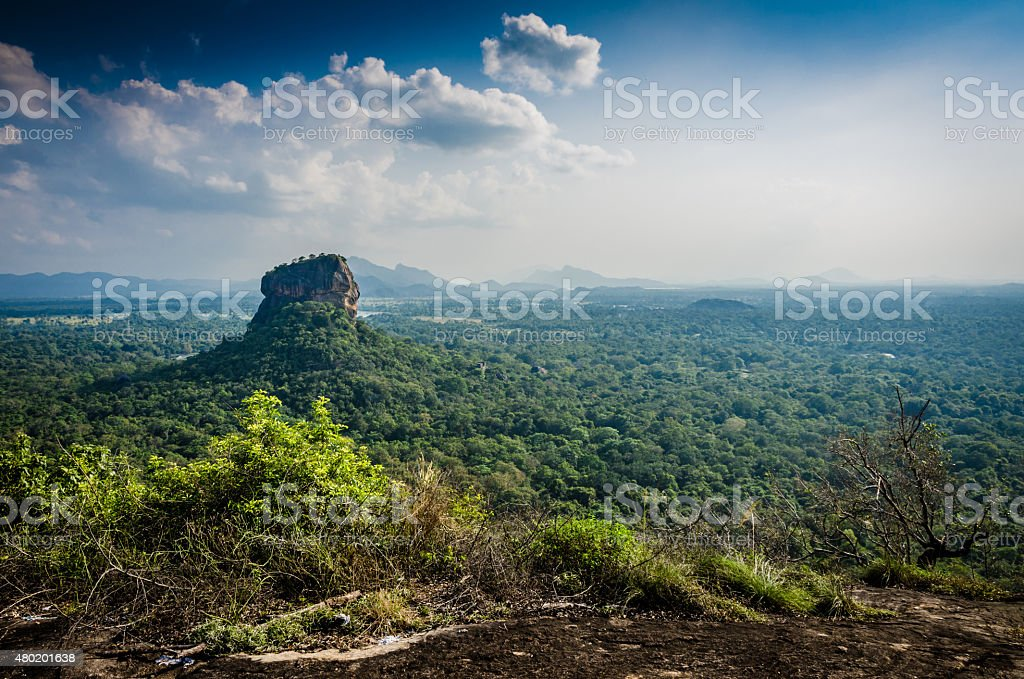 Sigiriya stock photo