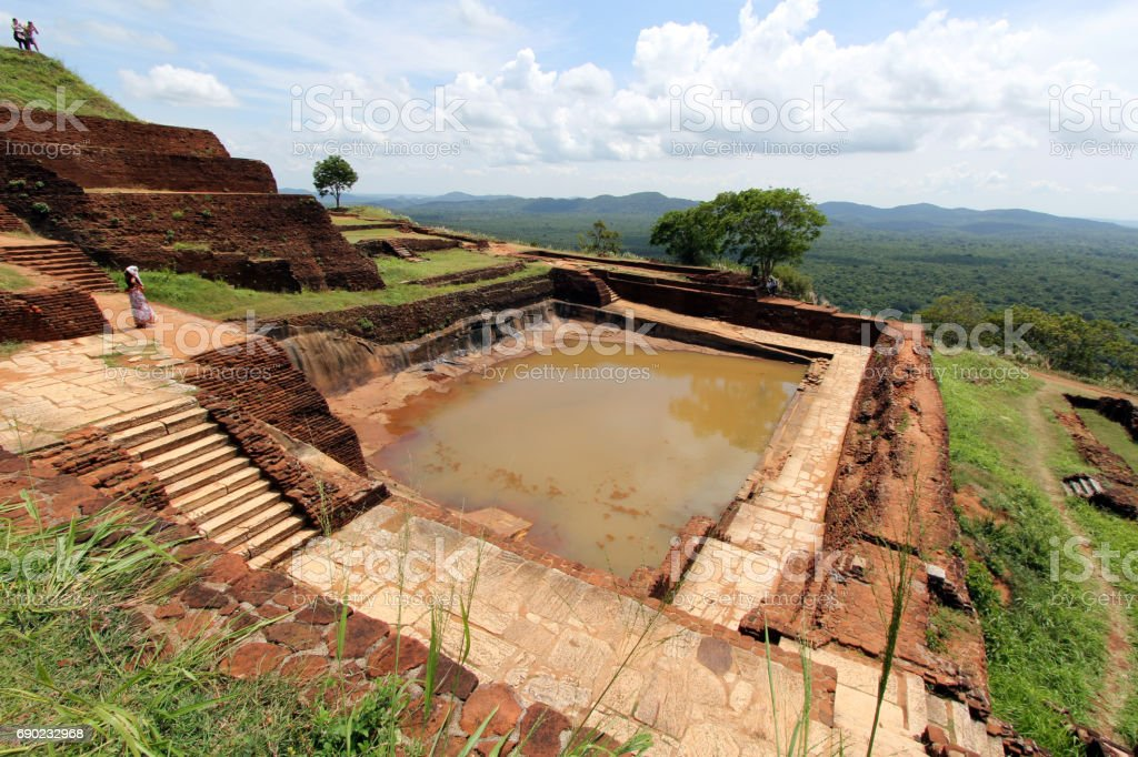 Sigiriya, Sri Lanka stock photo