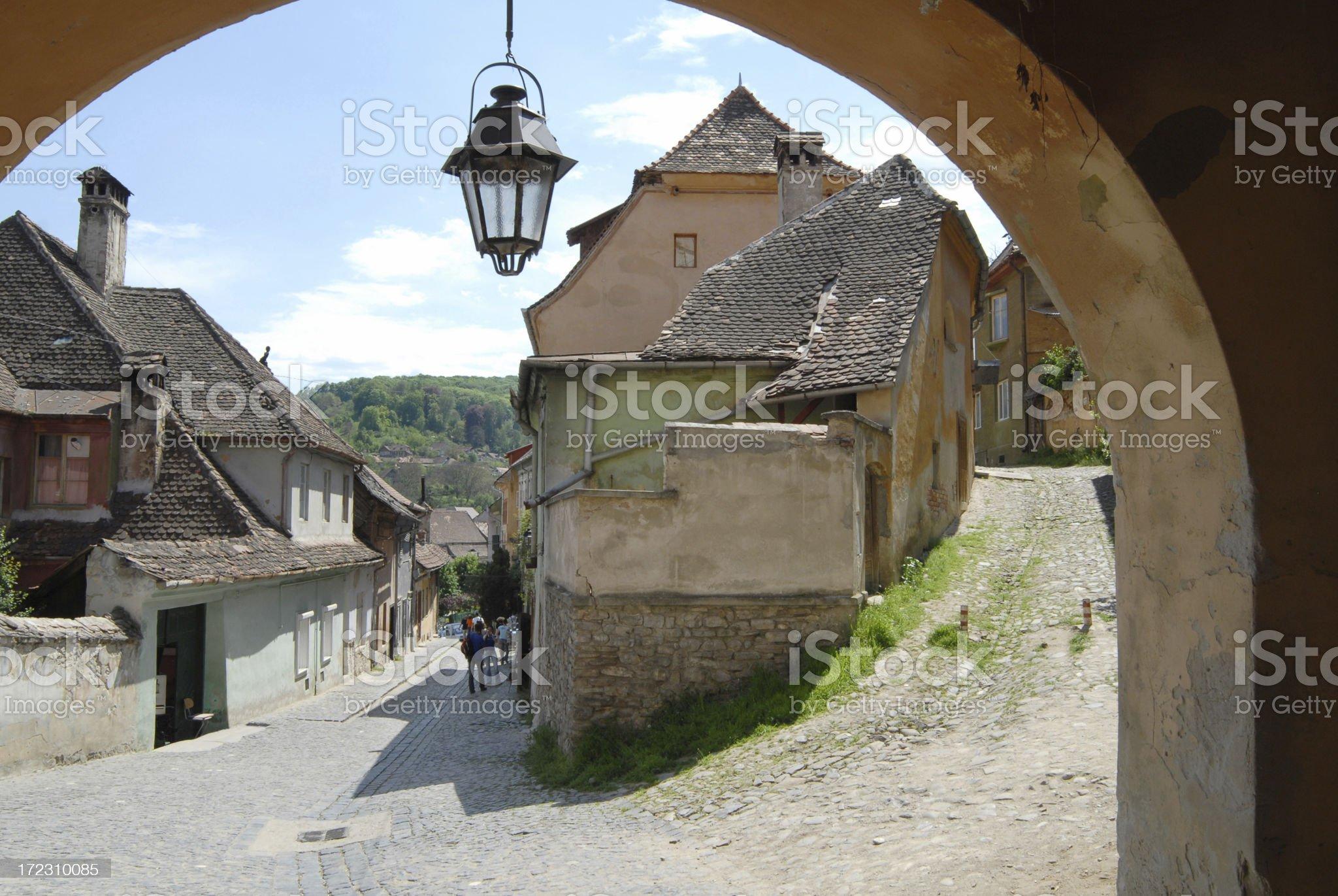 Sigisoara,Romania royalty-free stock photo