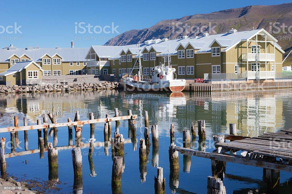 Siglufjörður stock photo