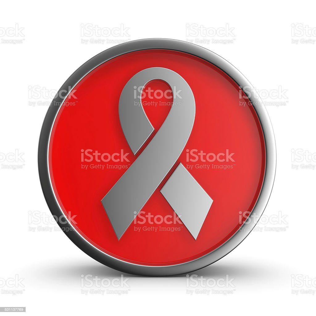 Sign AIDS. royalty-free stock photo