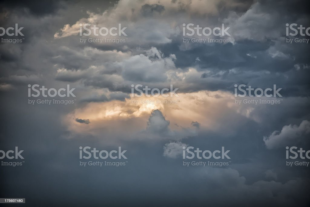Sign from above royalty-free stock photo