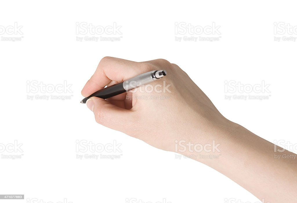 Sign here! royalty-free stock photo